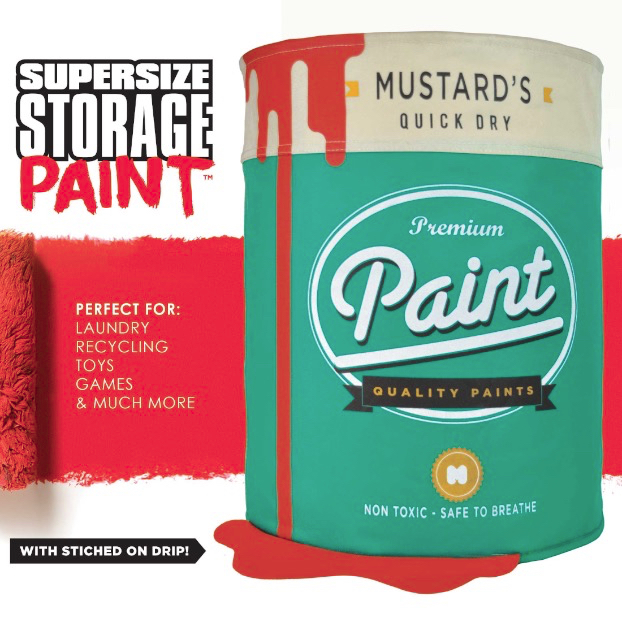 Supersize Paint Storage