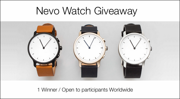 Nevo Watch Giveaway