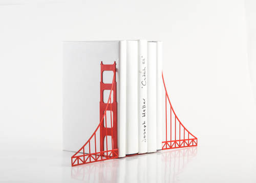 Golden gate bridge bookends