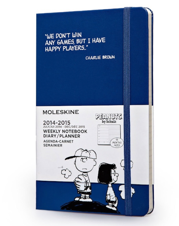 Moleskine 2014-2015 Peanuts Limited Edition Weekly Notebook