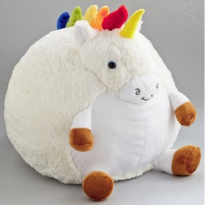 Plush One Pillow in Unicorn