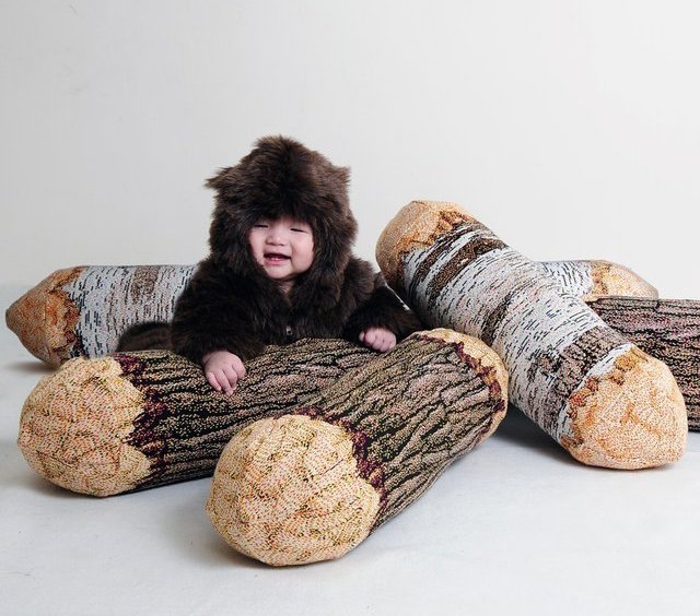Tree-Log-Bolster-Pillow