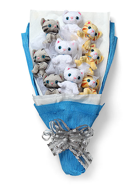 Plush Kitten Bouquet | HolyCool.net