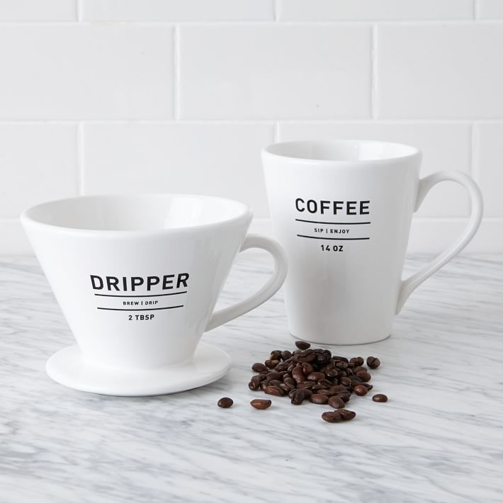 Utility Coffee Dripper + Mug