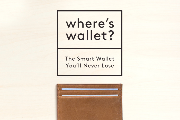 Where's Wallet- The Smart Wallet You'll Never Lose
