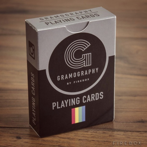 Gramography Playing Cards