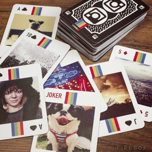 gramography playing cards turn your instagram photos into