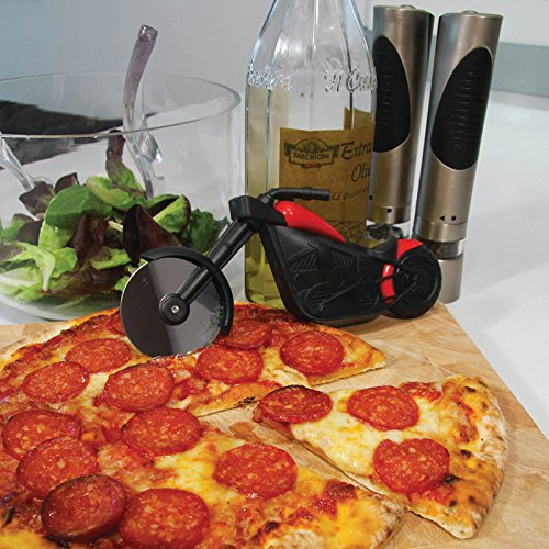 Noki Pizza Chopper Motorbike Pizza Cutter