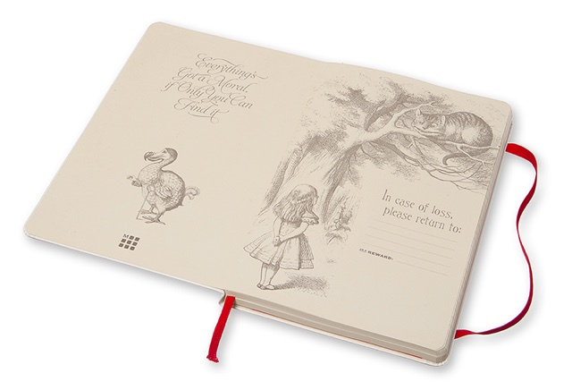 Moleskine Alice's Adventures in Wonderland Notebook2