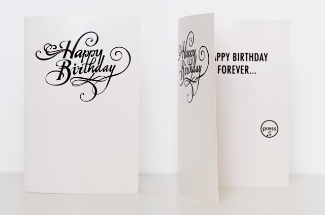 Joker Greeting Birthday Card