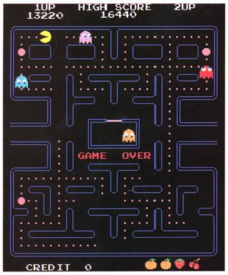 Pac Man Throw Blanket