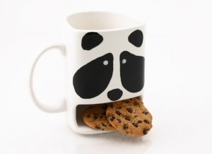 Panda Cookie Dunk Mug
