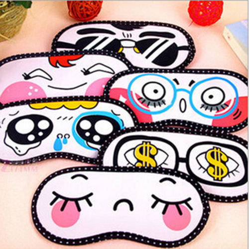 Cartoon Sleeping Eye Mask