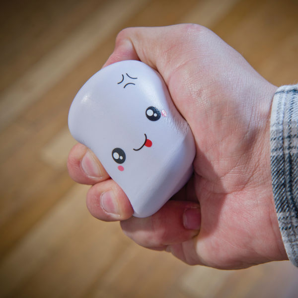 Cute Shin'yu Marshmallow Stress Relievers