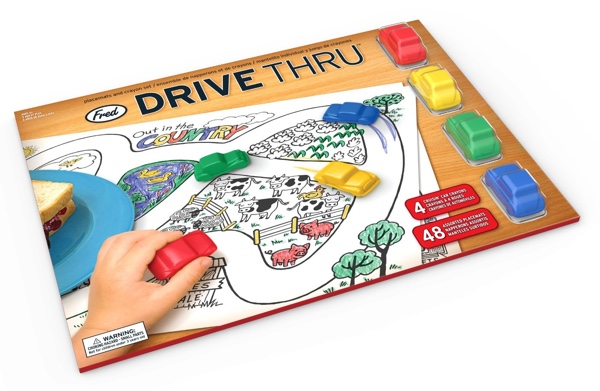 Drive Thru Placemat Set
