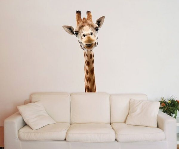 Giraffe-Wall-Sticker