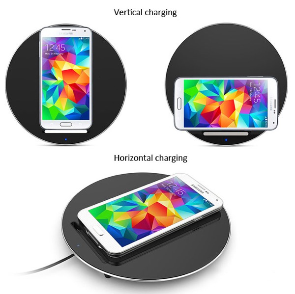 Moon Wireless Charger Positions