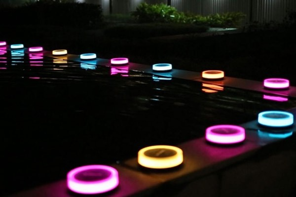 Add Color And Beautiful Ambiance To Your Garden Using Playbulb Smart, Solar Powered  LED Lights. During The Day, These Bulbs Absorb Enough Light To Power The ...