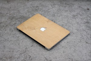 Real Maple MacBook Wood Skin