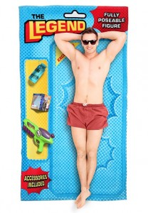 Action Hero Beach Blanket