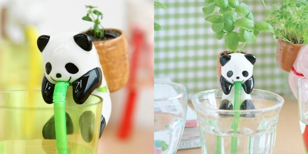Backpacking Panda Planter
