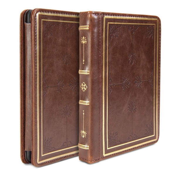 GMYLE Premium PU leather Book style Flip Folio Stand Case Cover for Kindle Paperwhite