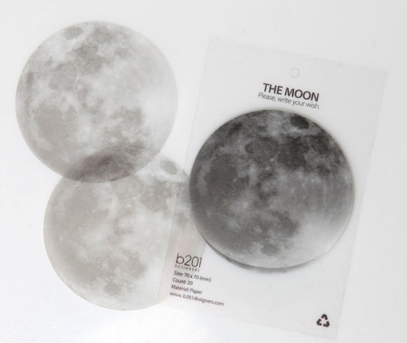 Moon Sticky Note