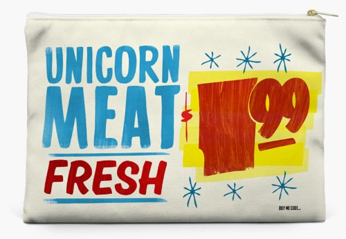 Unicorn Meat Pouch