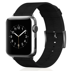 Apple Watch Band, JETech® 42mm Genuine Leather Strap Wrist Band