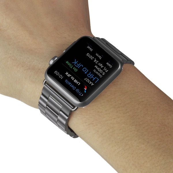 Apple Watch Band, Solid Stainless Steel Metal Apple Watch Strap