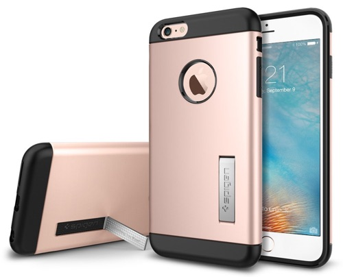 Spigen [Air Cushion Corners] Slim Armor Case for Apple iPhone 6 Plus _ iPhone 6s Plus