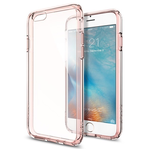iPhone 6s Case, Spigen® Ultra Hybrid AIR CUSHION Rose Crystal