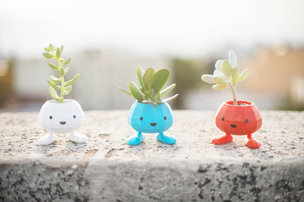 Oddish Planter 3D Printed Pokemon Planter
