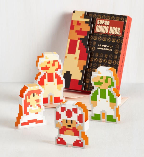 Super Mario Notecards