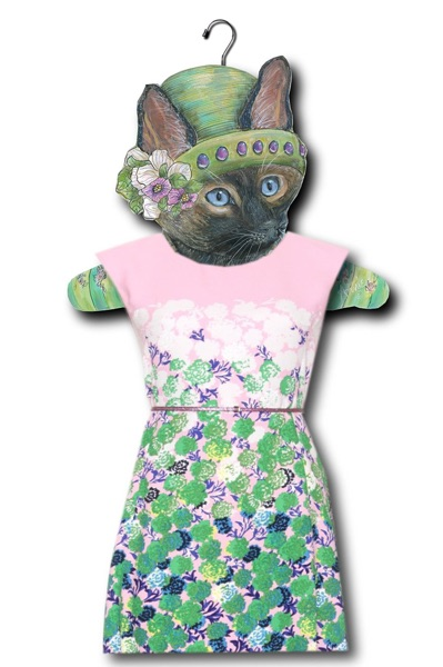 The Stupell Home Decor Collection Siamese Cat Hanger