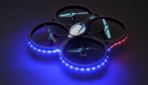 Hero RC XQ-5 V626 UFO Drone with Camera and LED