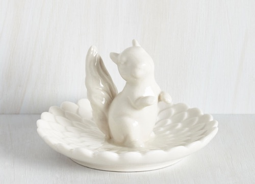Squirrel Jewelry Dish