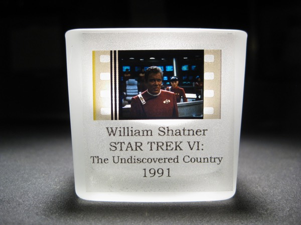 Star Trek - Captain Kirk - Glass Votive