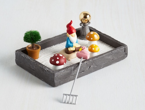 the more you gnome zen garden - Unique Home Decor