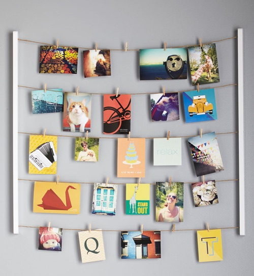 twine after time photo hanger kit - Unique Home Decor