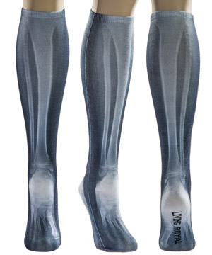 X-Ray Knee High Socks
