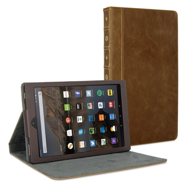 Book Case Vintage for Amazon Fire HD 10