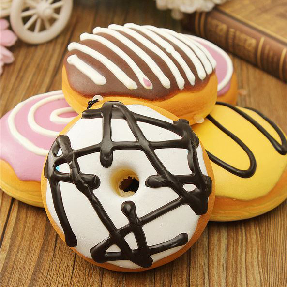 GOURMET SCENTED DONUT STRESS BALL