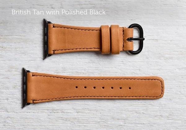 The Classic Apple Watch Band by Pad and Quill