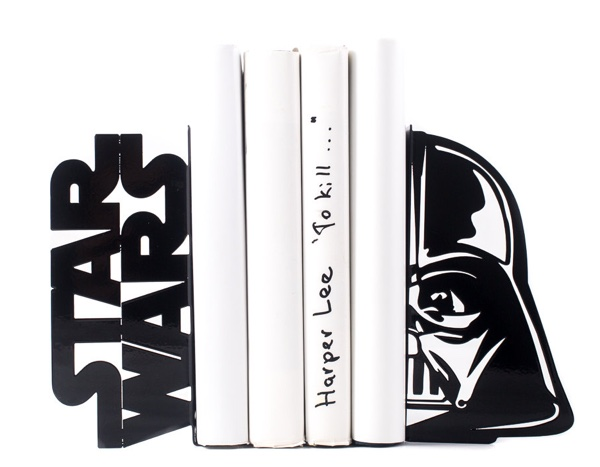Darth Vader Star Wrs Book holders