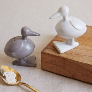 Duck Salt + Pepper Shaker Set