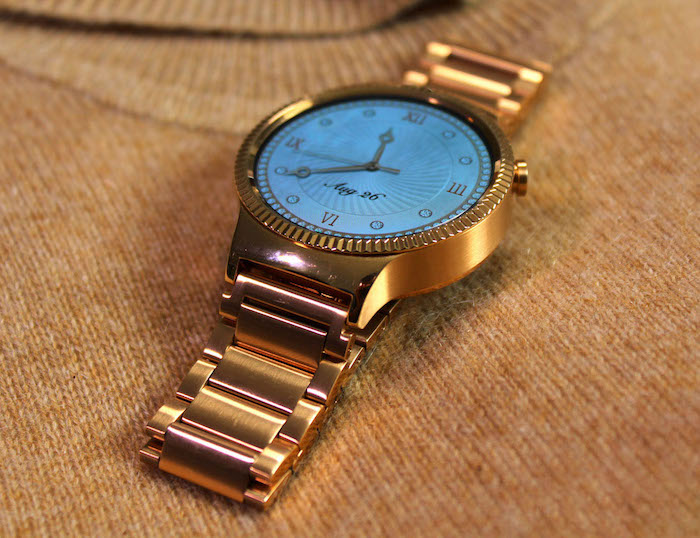 Huawei-22K-Rose-Gold-Plated-Smartwatch