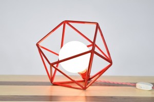 The Mercedes Geometric Table Lamp