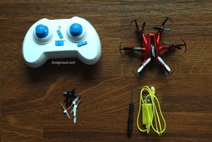 JJRC Hexacopter_Contents