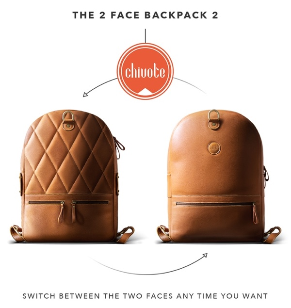 Chivote 2Face2 | The most functional leather backpack